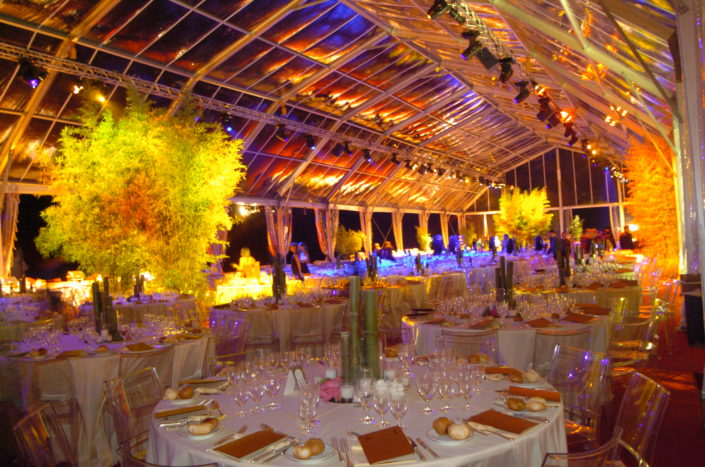 PALERMO, TONNARA BORDONARO - GALA DINNER IN A CRYSTAL TENT FOR 800 PEOPLE (Unicredit) 2/2