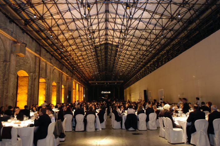 FLORENCE, STAZIONE LEOPOLDA - GALA DINNER ( Unicredit )