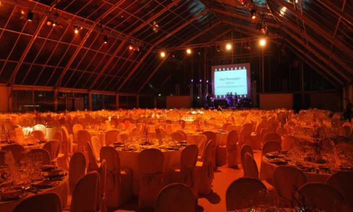 PALERMO, TONNARA BORDONARO - GALA DINNER IN A CRYSTAL TENT FOR 800 PEOPLE (Unicredit) 1/2