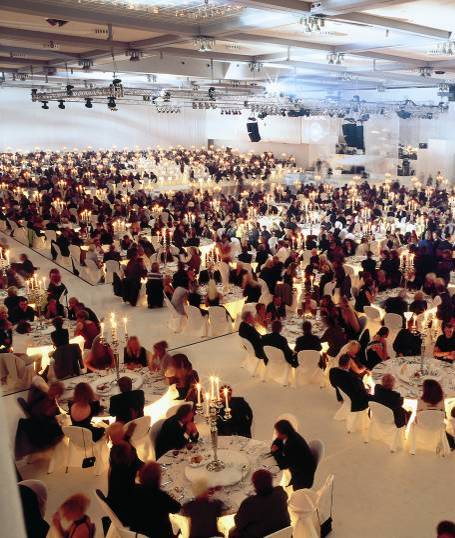 BERLIN, GALA DINNER FOR 2000 PEOPLE (Unicredit) 2/2
