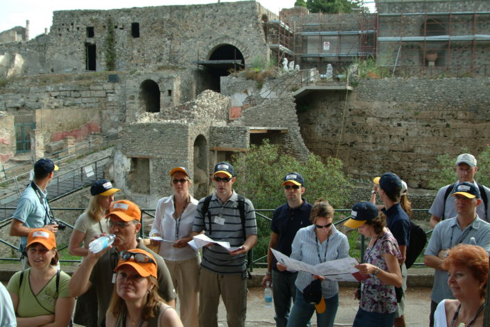 POMPEI, TEAM BUILDING, TREASURE HUNT