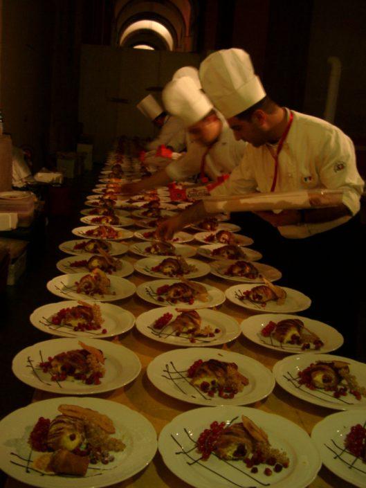 GALA FLORENCE,DINNER PREPARATION