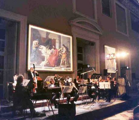 NEAPOLITAN ORCHESTRA AT THE NATIONAL ARCHAEOLOGICAL MUSEUM ( ENGINEERIING CONFERENCE)