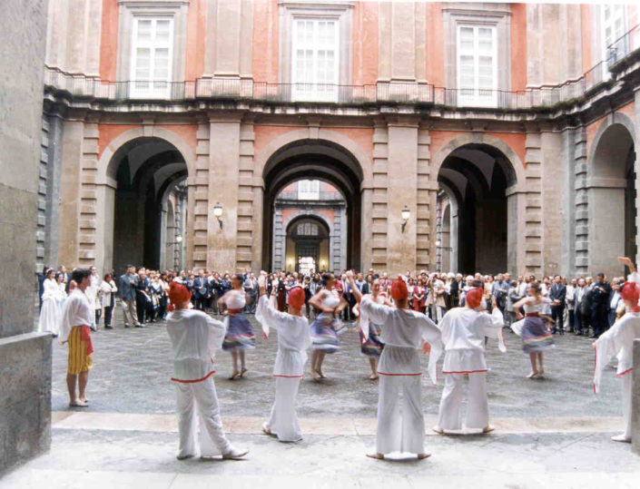 NAPOLI, PALAZZO REALE DI CAPODIMONTE OPENING RECEPTION WITH CLASSICAL DANCERS