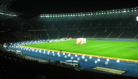 BERLIN, GALA DINNER AT FOOTBALL STADIUM FOR 2000 PEOPLE (Unicredit)