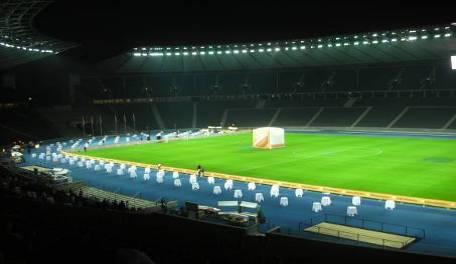 BERLIN, GALA DINNER AT FOOTBALL STADIUM FOR 2000 PEOPLE (Unicredit)